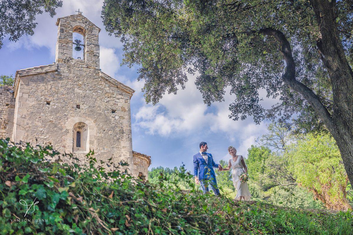 Photographe Mariage église Sur Avignon 1