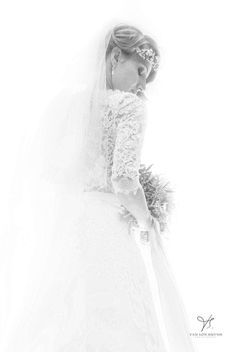 Photographie De La Mariés En Avignon